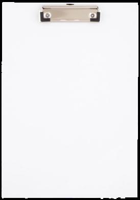 podložka A4 jednodeska karton/PP bílá 009964(5907814638793)