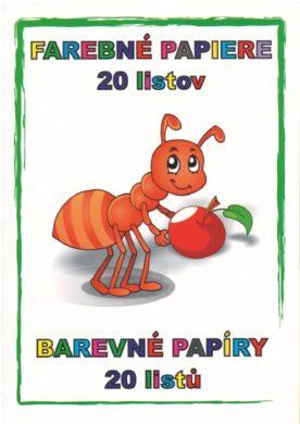 barevné papíry 20 listů(5908243652718)