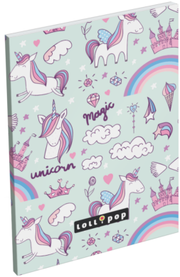 blok A6 čistý lep.bok Lollipop Magic 18405533(5997416540556)