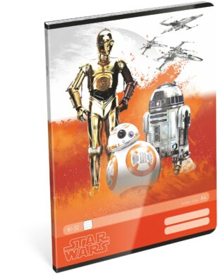 sešit A4 32l linka Star Wars 7 Robots 15431411  (5997416543144)
