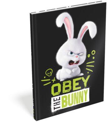 záznamní kniha Lizzy A6 čistá The Secret Life Of Pets Bunny 16441603(5997416544165)