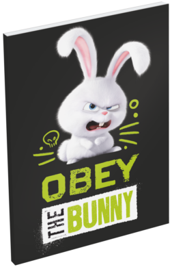 blok A6 čistý lep.bok The Secret Life of  Pets Bunny 16441703  (5997416544172)