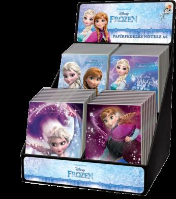 blok A6 čistý lep.bok display Frozen 40ks 16502815(5997416550289)