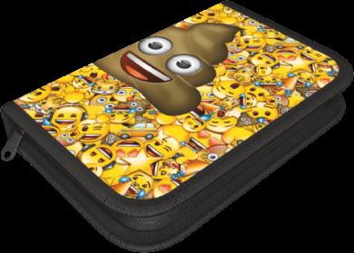 penál 1 patro prázdný Emoji Poop 17506101(5997416550616)