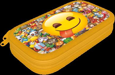 penál 2 patra prázdný Emoji Smile17506202(5997416550623)