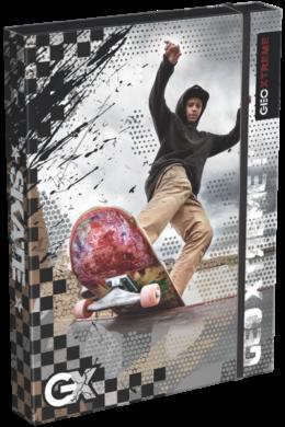 žbox na sešity A4 Geo Xtreme Thrasher 18513306(5997416551330)