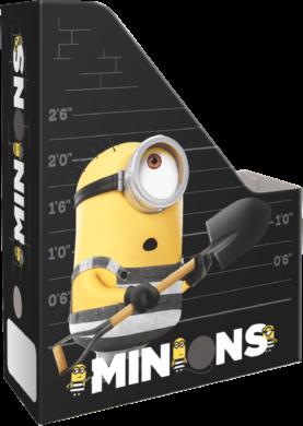 box na sešity skládací A4 Minions Stripe 17515522(5997416551552)