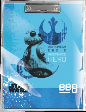 podložka A4 s klipem Star Wars 8 BB-8 18558102(5997416555819)