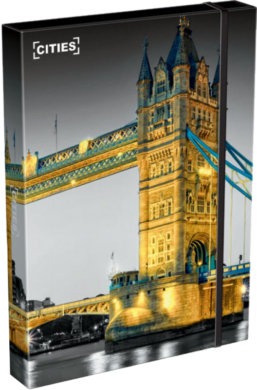 box na sešity A4 Cities London 18566001(5997416556601)