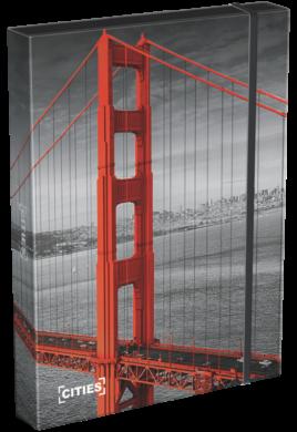 box na sešity A5 Cities San Francisco 18566602(5997416556663)