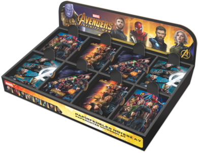 blok A7  display Avengers Infinity War mix 80ks 18571204(5997416557127)