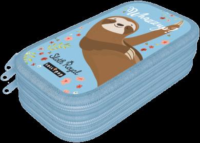 penál 3 patra prázdný Lollipop Sloth Royal 19622038(5997416562206)