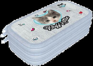 penál 3 patra prázdný Pet Fluff Kitten 19622113(5997416562213)