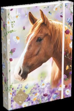 box na sešity A4 Wild Beauty Brown 19628602(5997416562862)