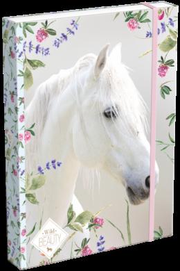 box na sešity A4 Wild Beauty White 19628701(5997416562879)