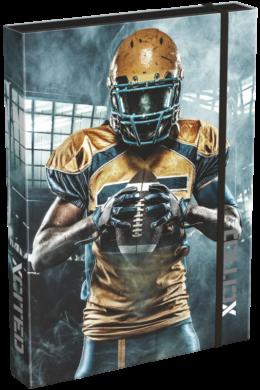 box na sešity A4 X-Cited NFL 19630104(5997416563012)
