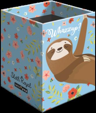 stojánek  na tužky hranatý Lollipop Sloth Royal 19630938(5997416563098)