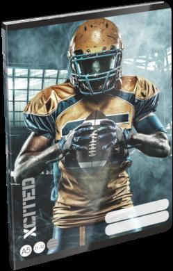 sešit A5 32l linka X-Cited NFL 19658104(5997416565818)