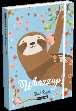 box na sešity A5 Lollipop Sloth Royal 19662938(5997416566297)