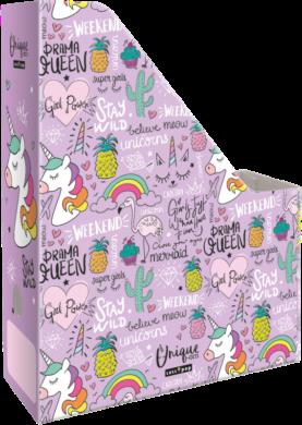 box na sešity skládací A4 Lollipop Uniqueorn 19674036(5997416567409)