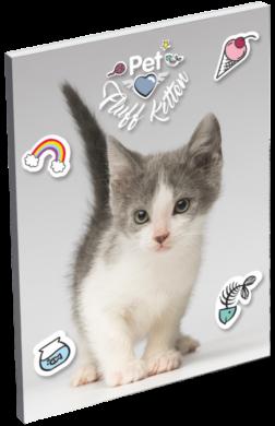 blok A7 Pet Fluff Kitten 19683013(5997416568307)