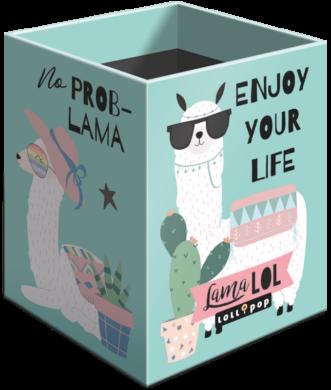 stojánek  na tužky hranatý Lollipop Lama LOL 20732247(5997416573226)