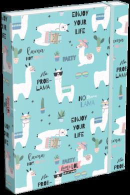 box na sešity A4 Lollipop Lama LOL 20763447(5997416576340)