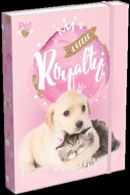 box na sešity A4 Little Friends Pink 20763801(5997416576388)