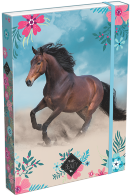box na sešity A4 Wild Beauty Blue 20763906(5997416576395)