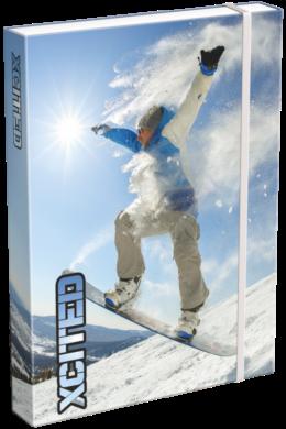 box na sešity A5 X-cited Snowboard 20766908(5997416576692)
