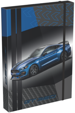 box na sešity A5 Ford Mustang Blue 20767003(5997416576708)