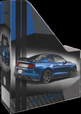 box na sešity skládací A4 Ford Mustang Blue 20771703(5997416577170)