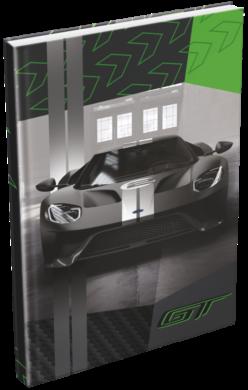 záznamní kniha Lizzy A5 čistá Ford Gt Green 20777902(5997416577798)