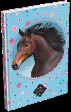 záznamní kniha Lizzy A5 čistá Wild Beauty Blue 20778506(5997416577859)