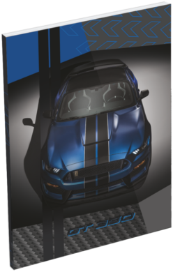 blok A7 Ford Mustang Blue 20779303(5997416577934)