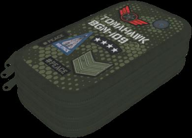 penál 3 patra prázdný Peace Pixel 20784105(5997416578412)
