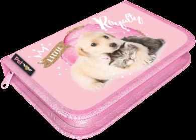 penál 1 patro prázdný Little Friends Pink 20786401(5997416578641)