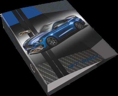 pořadač pákový A4 LIZZY 7,5cm Ford Mustang Blue 20799407(5997416579945)