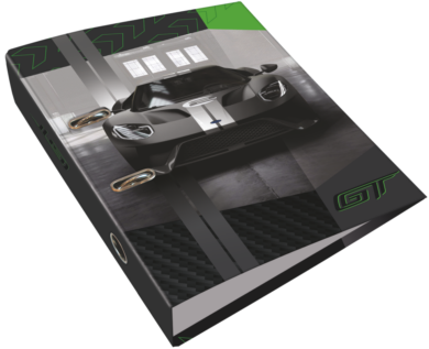 pořadač pákový A4 LIZZY 7,5cm Ford GT Green 20799508(5997416579952)
