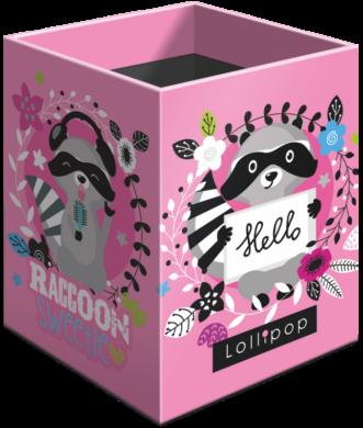stojánek  na tužky hranatý Lollipop Raccoon 21853052(5997416585304)