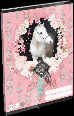 sešit A5 32l linka Wild Beauty Rose 21869308(5997416586936)