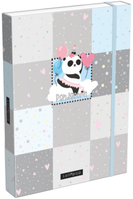 box na sešity A4 Lollipop Pandacorn 21871555(5997416587155)
