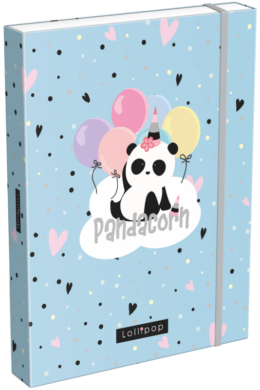 box na sešity A5 Lollipop Pandacorn 21873055(5997416587308)