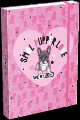 box na sešity A5 We Love Dogs Pink 21873201(5997416587322)