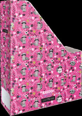 box na sešity skládací A4 Lollipop Raccoon 21876352(5997416587636)