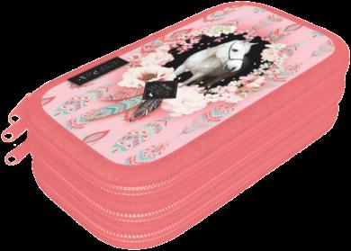 penál 3 patra prázdný Wild Beauty Rose 21884008(5997416588404)