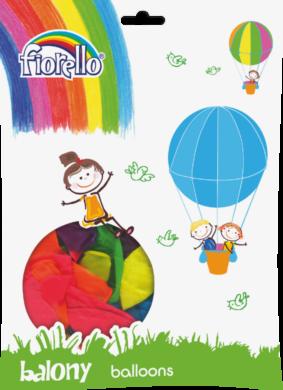 balónky 100ks Fiorello neon mix 170-1604(6913749990164)