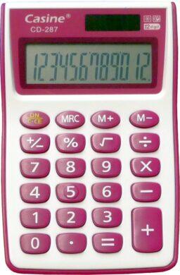 kalkulačka Casine CD-287 fialová(6939107623505)