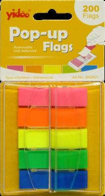 notes   Y neon  45 x 12 5 barev v zás.vytahovací 200ks(6957723455010)