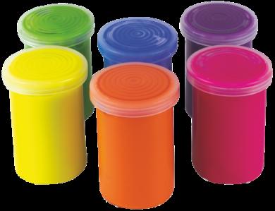 barvy temperové Toy color fluo 25ml 6ks(8015189005342)
